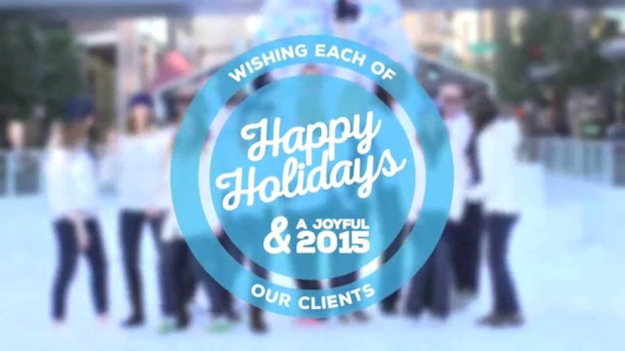Allresco happy holidays from alliance