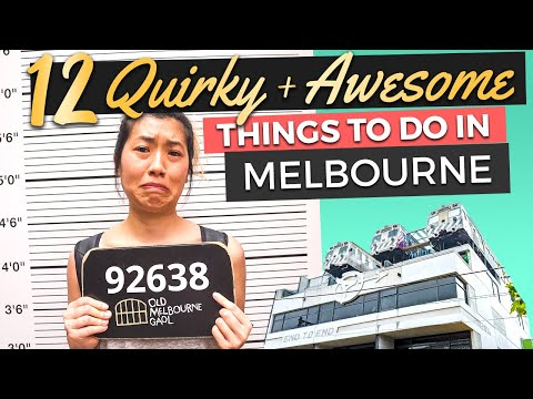 Top 12 CRAZY & UNIQUE Things to do in MELBOURNE, Australia (2021)