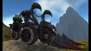New Meat Wagon Mount with Warcraft 3 Reforged!