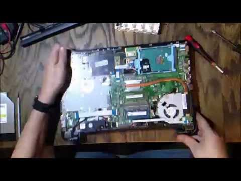 Toshiba L55t Laptop Hinge Repair Part 1