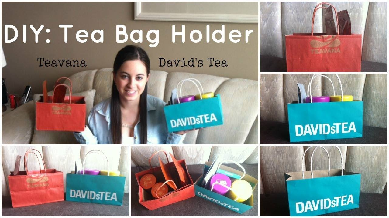 Diy Tea Bag Holder