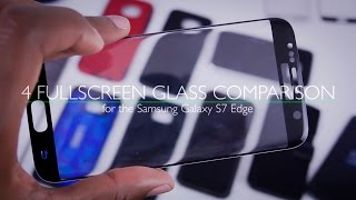 4 Tempered Glass Screen Protectors for Samsung Galaxy S7 Edge - Comparison