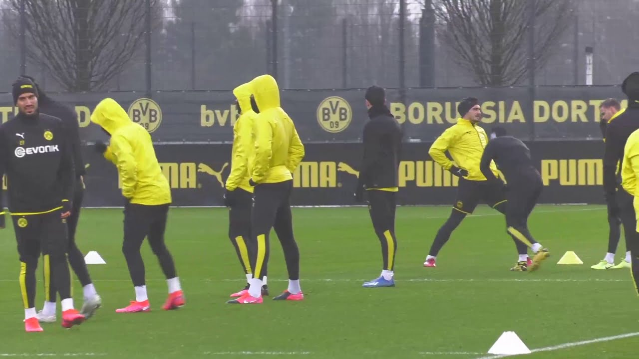 Live: Das Abschlusstraining vor Paris | BVB - Paris St. Germain | UEFA Champions League