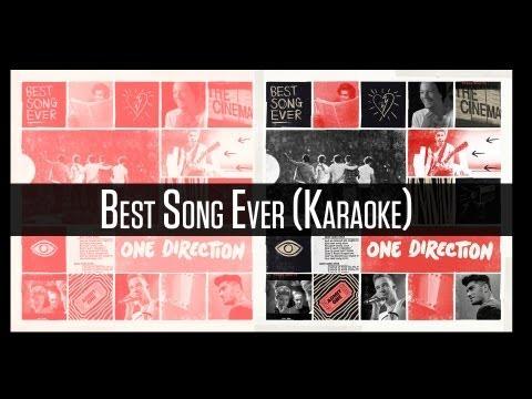 One Direction - Best Song Ever (Karaoke/Instrumental) (Download Link In Description)