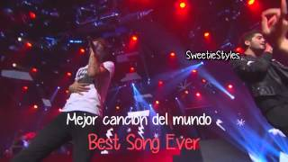 One Direction  - Best Song Ever Live [Subtitulada Español/Ingles]