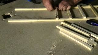 Making A Simple Garden Trellis.