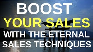 Sell More and Better, Eternal Sales Techniques beyond Internet (Booktrailer)