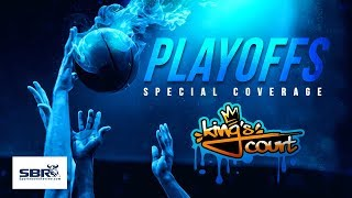 Monday Night Live NBA Picks Against The Spread | Kings Court NBA Playoffs Betting Tips | April 22nd