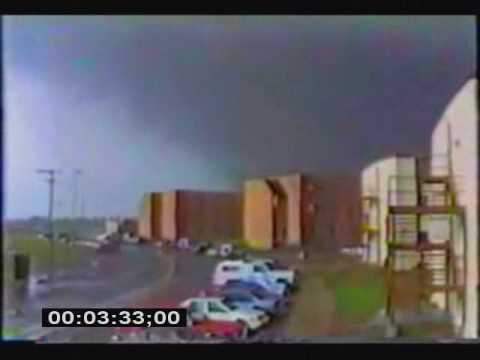 Historic tornado in Wichita KS McConnell AFB