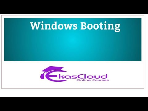 #WindowsServer Windows Booting   Huzefa  Tamil Part1| Ekascloud