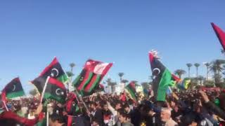 عادي عادي قولو علينا بريوش من ميدان الشهداء طرابلس اليوم 17 فبراير 2020