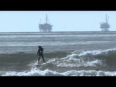 Offshore Oil Raw Footage