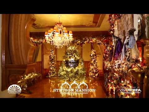 Christmas Tours — The Stetson Mansion