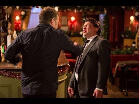 EastEnders - Alfie Moon Punches Derek Branning (21st December 2012)