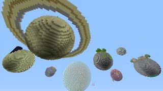 Minecraft (Xbox360/PS3) - SOLAR SYSTEM MOD! -  Mod Showcase!