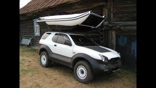 Багажник для лодки ПВХ на крышу автомобиля.Рыбалка с TCM-FISH.