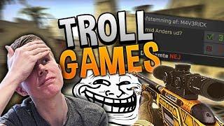 DET GIK HELT GALT.. | TROLL GAMES - CS:GO #3