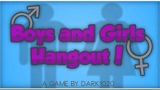 Roblox : Girl and Boys Hangout