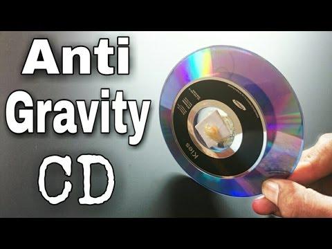 How To Make Anti Gravity CD Wheel!