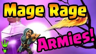 MAGE RAGE ARMIES! - TH8, TH9, & TH10 Event Gameplay! - Clash of Clans - GiWiPe DE Farming