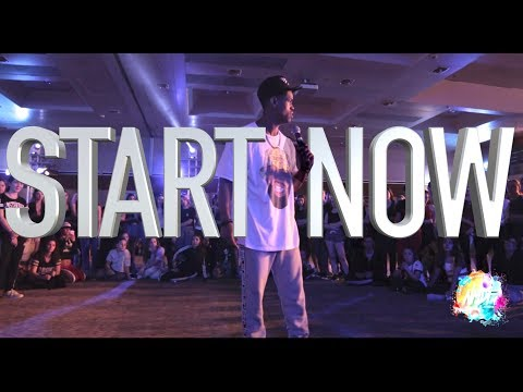 """Phil Wright - """"Start Now"""" 
