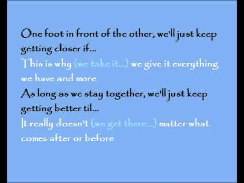 Here Right Now Karaoke / Instrumental Ghost The Musical (Promo Version Jan 2011)