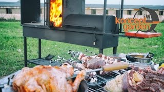 Профессиональный мангал барбекю для уличного кафе и ресторана. konceptgarden.ru(, 2015-04-15T23:47:00.000Z)