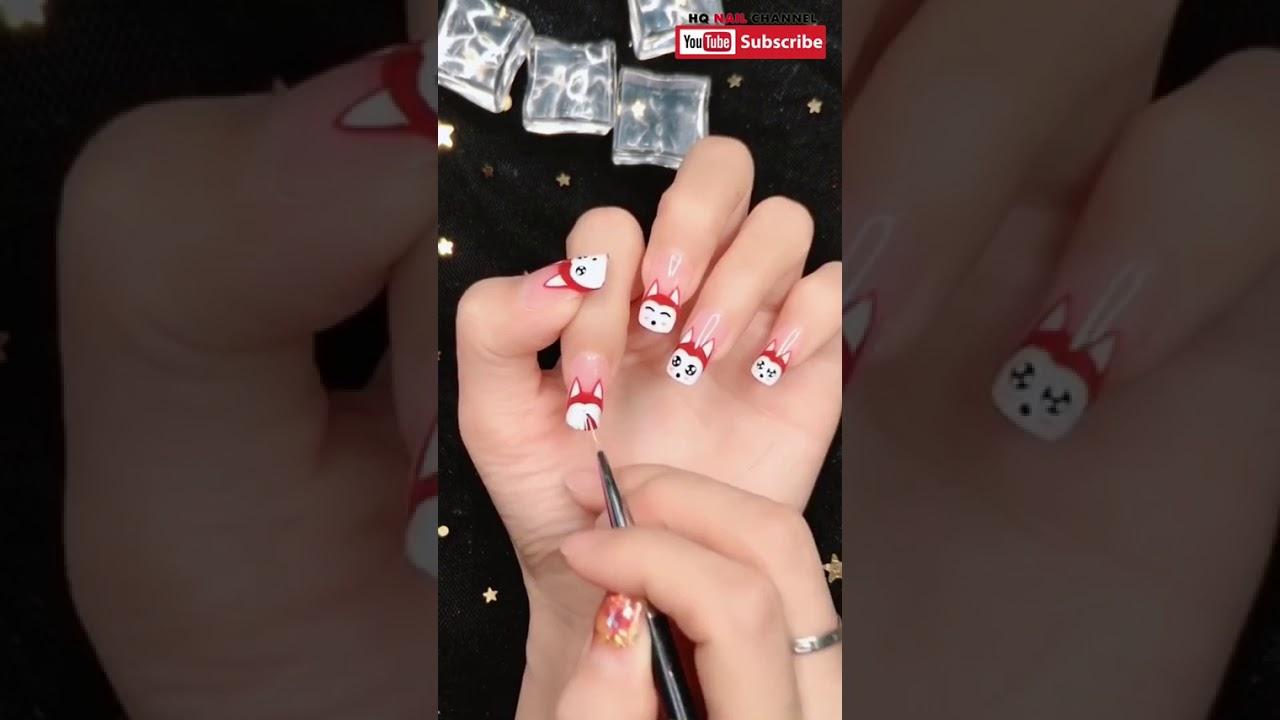 Hướng dẫn vẽ nail đẹp hình động vật dễ thương