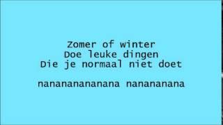 Junior Songfestival 2014 [ Suze - Holiday ] Lyrics