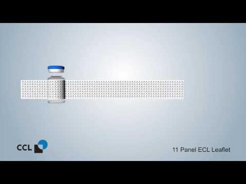 Extended Content Label- Pharmaceutical Vial Label- ECL Leaflet Label