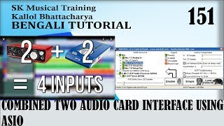 How to: Combine Two Audio Interfaces Using ASIO4ALL and ADAT Clock Link | SK Musical | Part 151