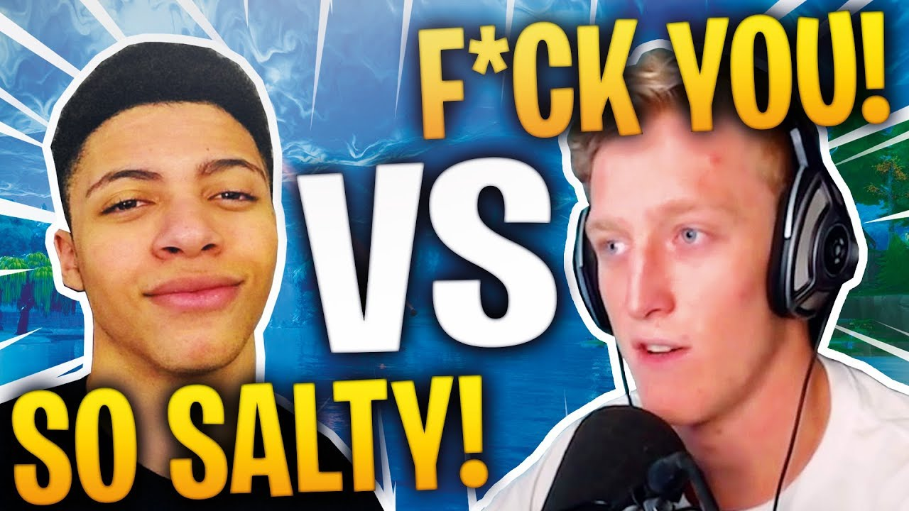 TFUE RESPONDS TO MYTH CALLING HIM SALTY! Fortnite FUNNY Moments