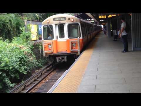 MBTA Orange Line Subway Runbys 7/11-16/16 HD