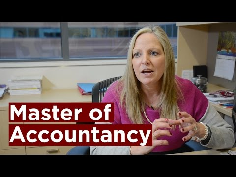 The Master of Accountancy at the Darla Moore School of Business