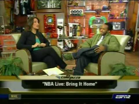 Scoop Jackson on Cold Pizza discussing 2007 NBA All Star game and its potential problems