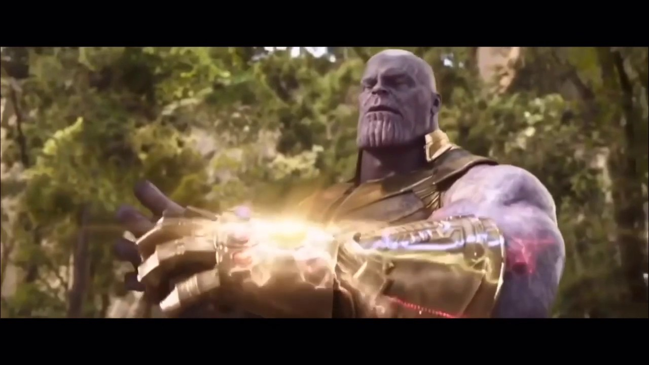 Avengers: Infinity War Snap Scene but I Voice Thanos and do the Sound  Effects