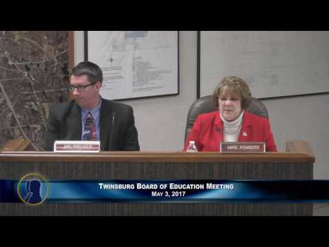 Twinsburg Board of Education - May 3, 2017