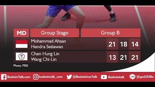 Result Last Group Stages BWF World Tour Finals 2018