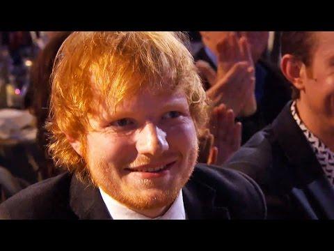 Ant & Dec chat to Ed Sheeran I BRIT Awards 2015