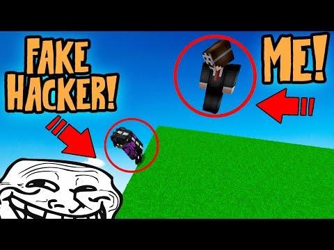 I GOT TROLLED BY A HUGE MINECRAFT YOUTUBER! (Minecraft Trolling)