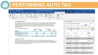 Performing Auto Tag in Disclosure Management video thumbnail