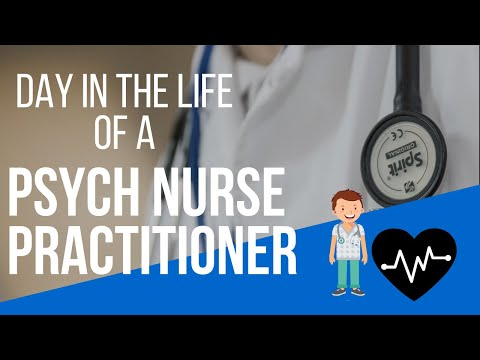 Day In The Life Of A Nurse Practitioner! Psychiatric Mental Health Nurse Practitioner