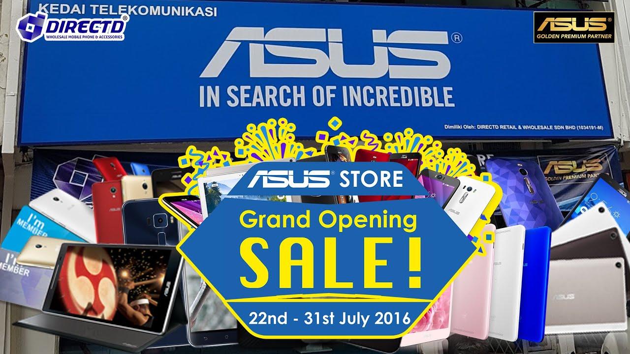 Directds asus authorised concept store grand opening youtube directds asus authorised concept store grand opening sciox Images