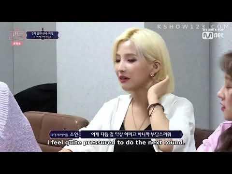 [EngSub] (G)I - dle choosing 2NE1 songs to perform on Queendom_HD