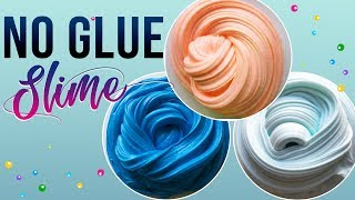 NO GLUE SLIME! Testing No Glue Slime Recipes, Slime Masters