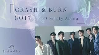 GOT7 (갓세븐) - Crash & Burn [3D Empty Arena]