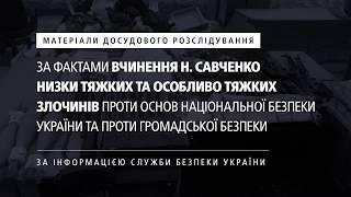 Матеріали досудового розслідування за фактами вчинення злочинів Н. Савченко thumbnail