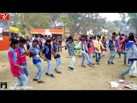Santali Dabung Song (Orchestra)-New Nagpuri Chain Dance 2019