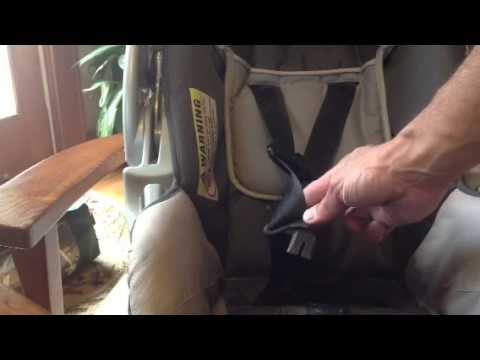 Baby Trend Infant Car Seat Twisted Strap How To