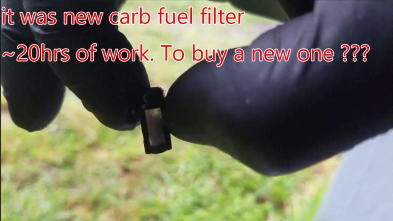 medium resolution of mikuni carburetor fuel filter restore in 5 sec yamaha waverunner iii